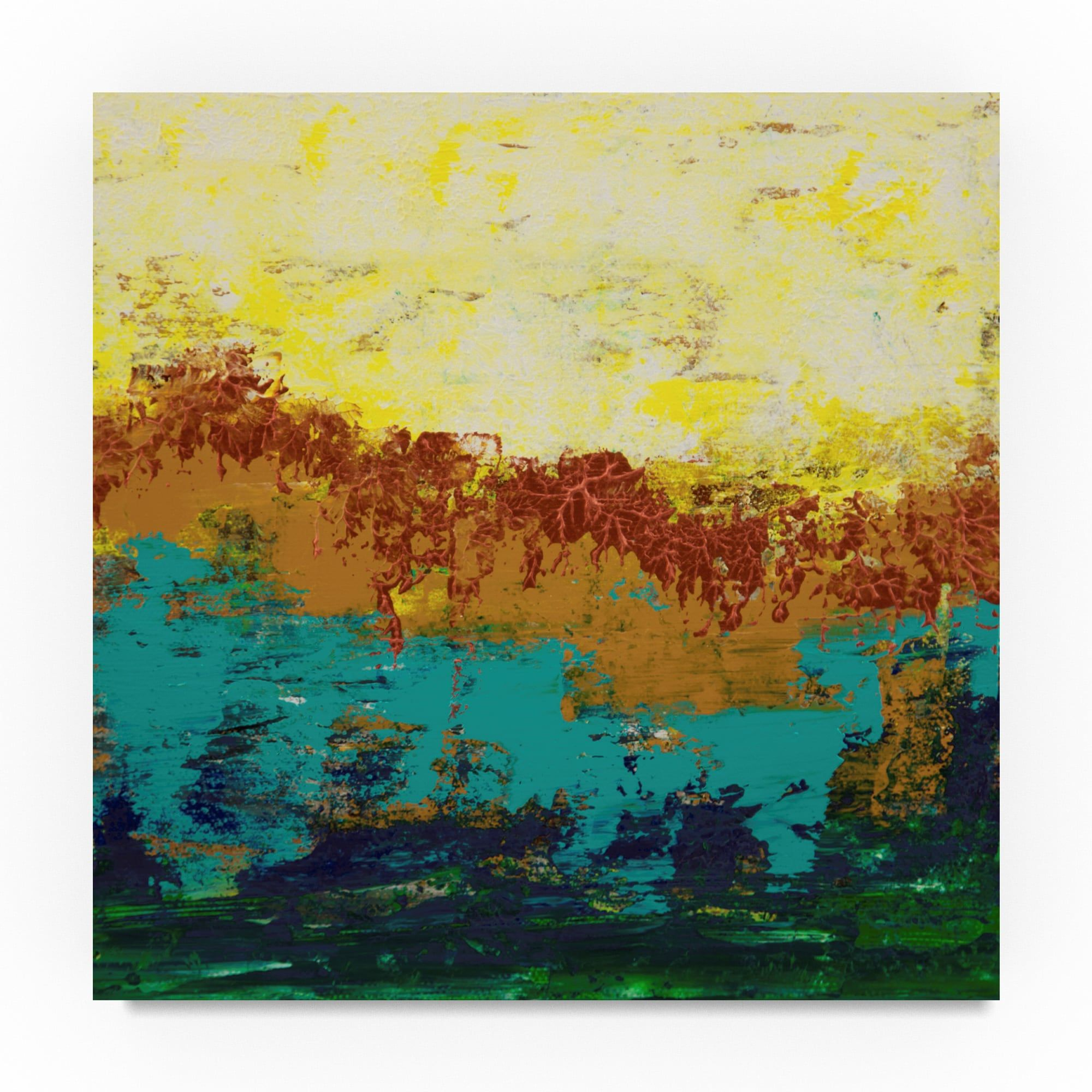 Hilary Winfield \'Views Of Nature Blue\' Canvas Art | Products ...