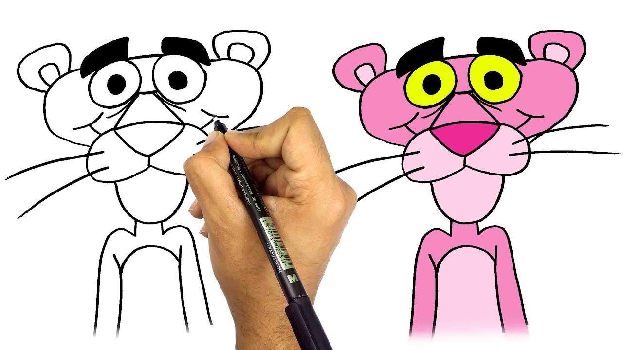 رسم النمر الوردي للاطفال بأسهل طريقة تعليم الرسم للاطفال كيف تر Drawings Peace Gesture Ana
