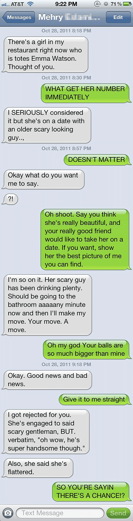 How to have a good text conversation with a girl