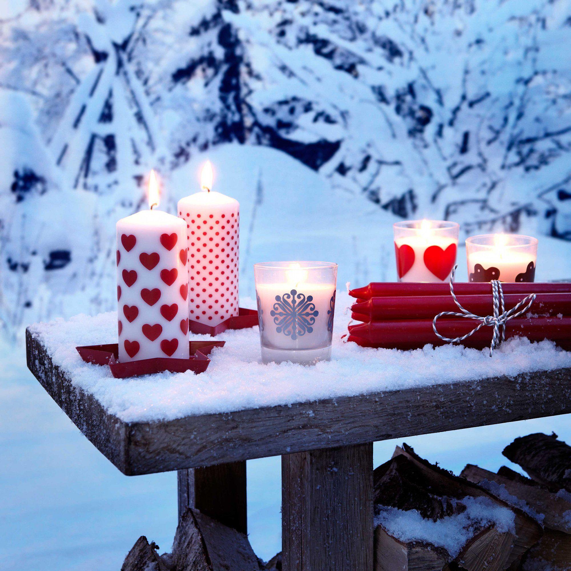 Weihnachtsdeko Inspiration.Weihnachten Bei Feel The Winter Holiday Candles Christmas