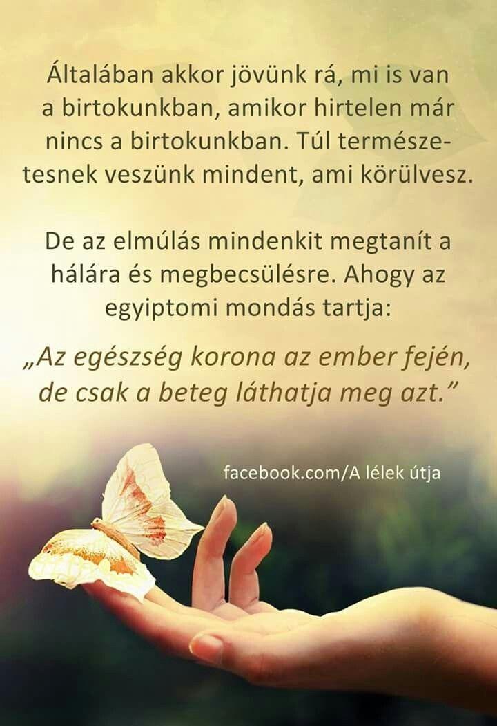 egészséggel kapcsolatos idézetek Az egészség korona az ember fején♡♡♡ (With images