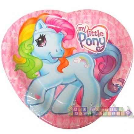 My Little Pony Sunny Daze Large Heart Shaped Paper Plates (8ct)  sc 1 st  Pinterest & My Little Pony Sunny Daze Large Heart Shaped Paper Plates (8ct) | my ...