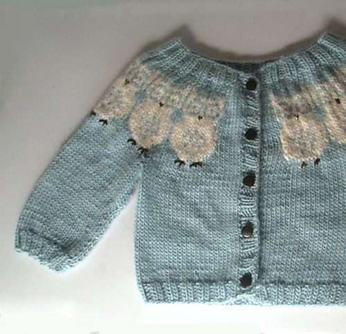 3eb4c4e40841c Ravelry  Owlunder - Short sleeved baby owl sweater pattern by Kasa Amend