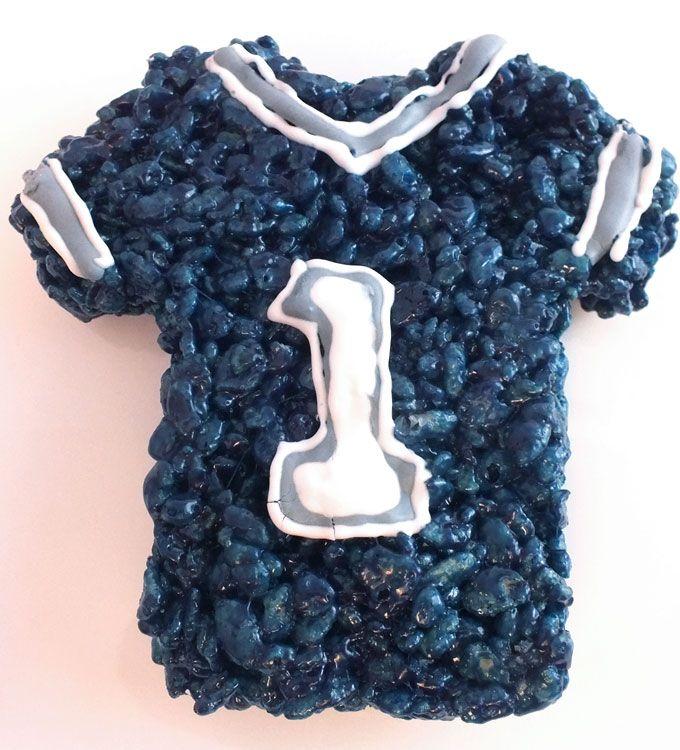Dallas Cowboys Rice Krispie Treats