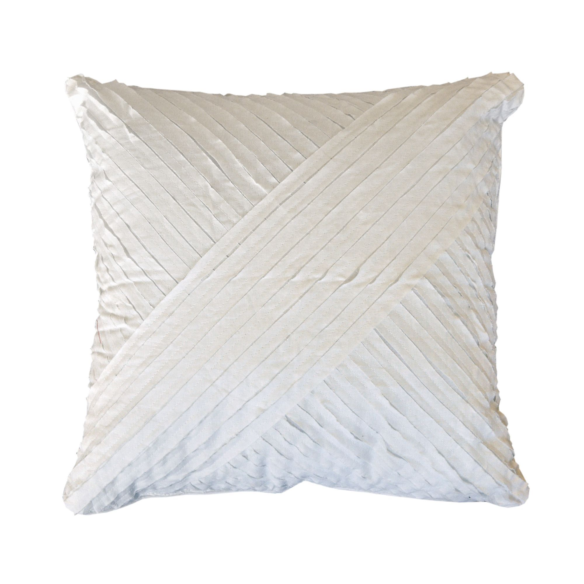 Petals Cotton Throw Pillow