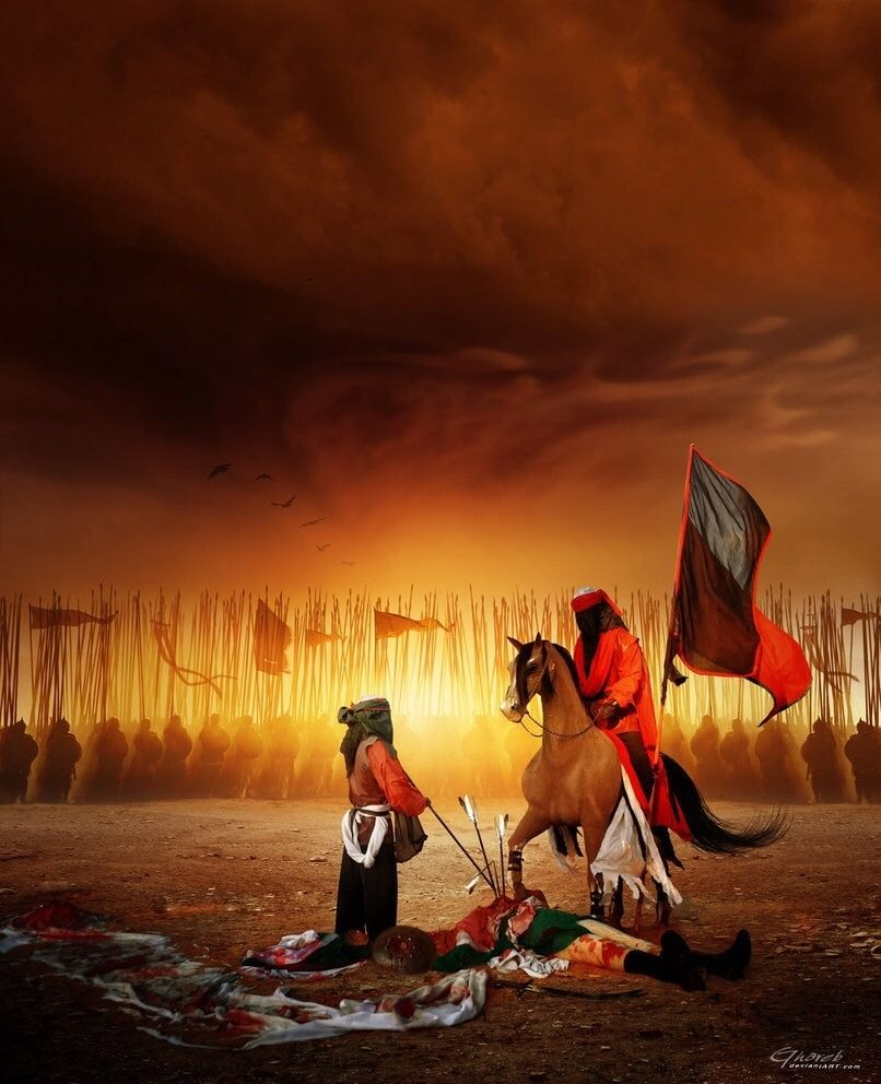يا حسين يامظلوم Islamic Paintings Islamic Artwork Karbala Photography