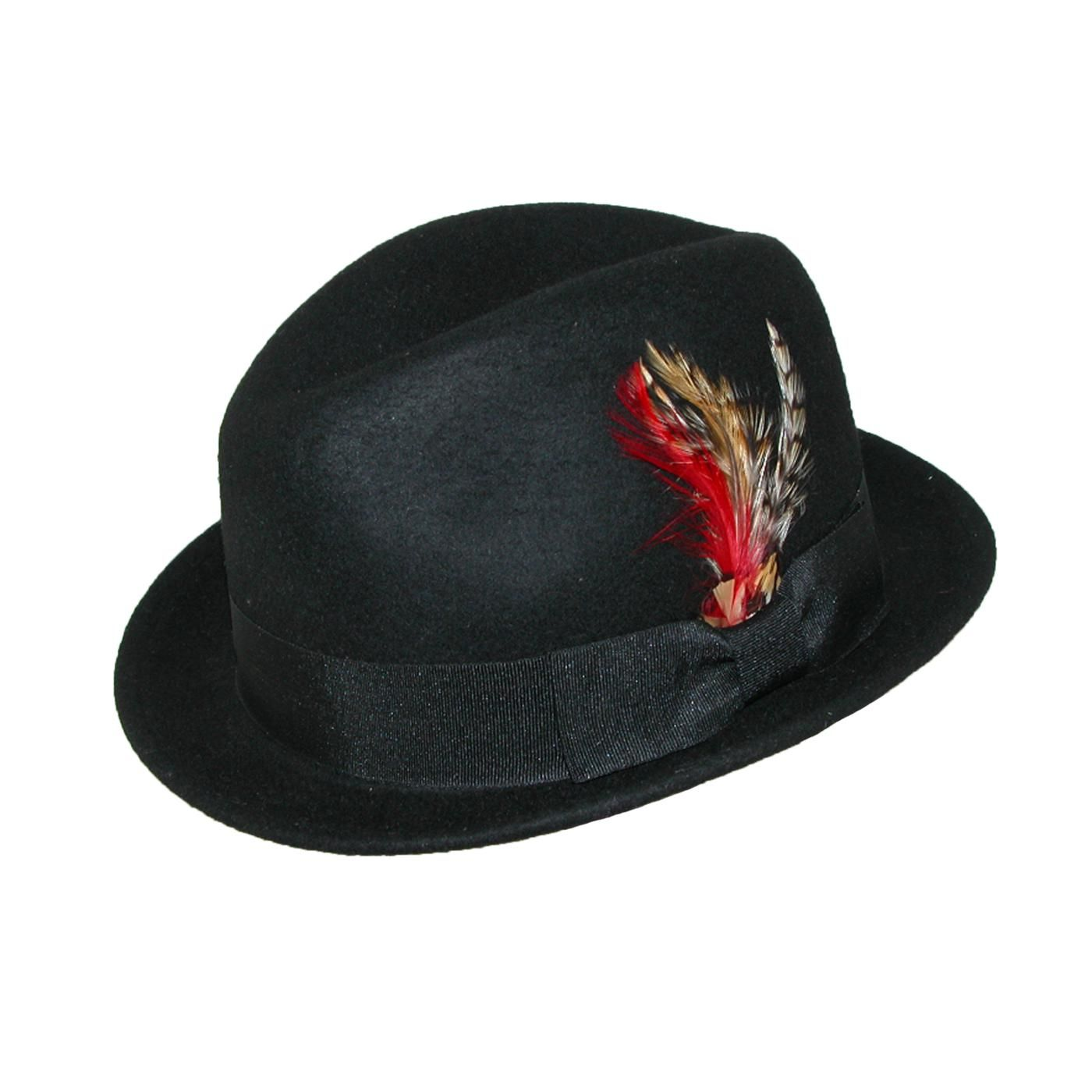 1f1e122fa3522 Jeanne Simmons Wool Felt Fedora with Feather. A classic and timeless style  you can t go wrong with a wool fedora.  27.95