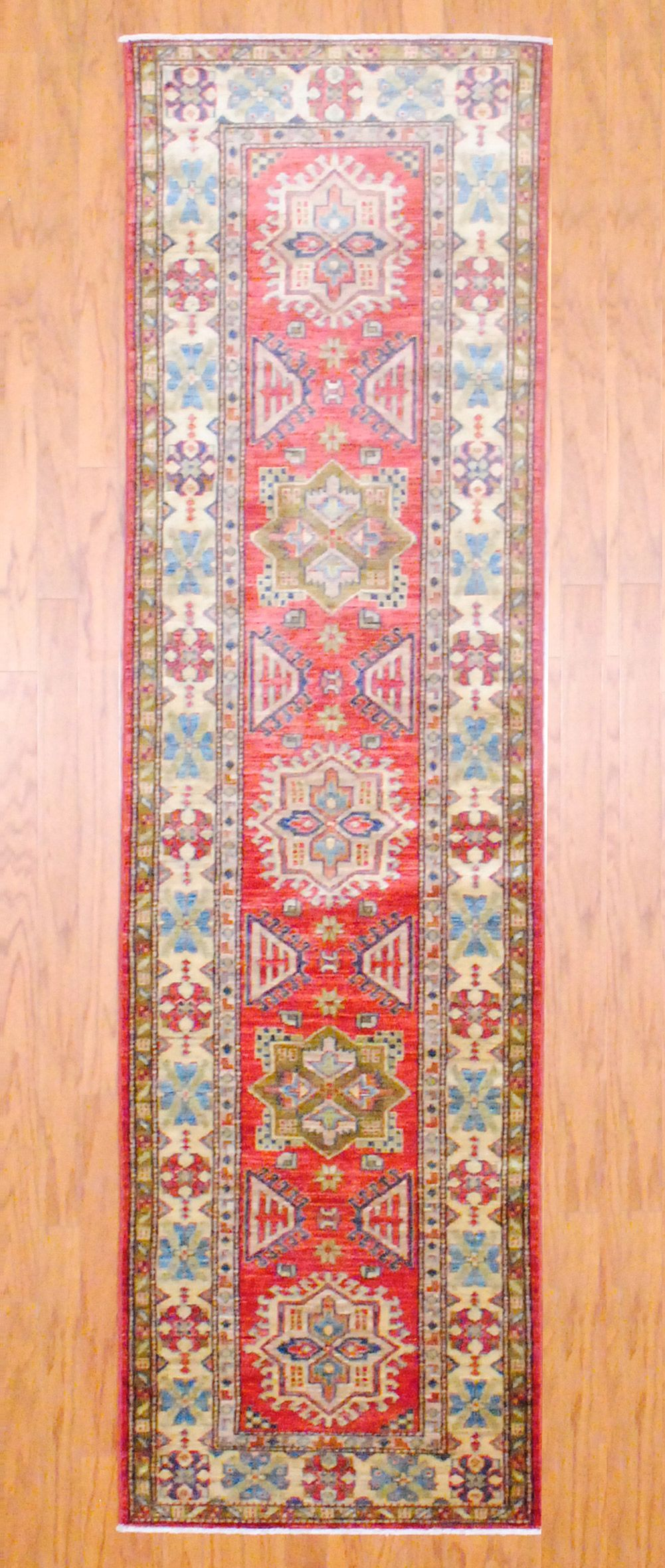 Afghan Hand Knotted Kazak 2 7 X 9 3 Herat Oriental Rugs Hand Knotted Afghan Knots