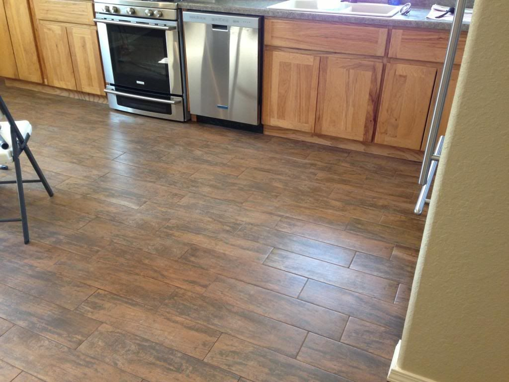 Porcelain tile that looks like wood could be perfect for the porcelain tile that looks like wood could be perfect for the kitchen and laundry room dailygadgetfo Choice Image