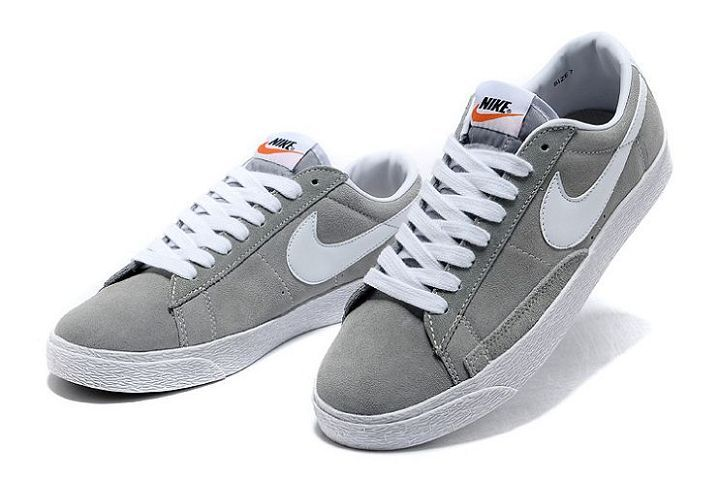 new products 3e013 33b22 Blazer Basse Homme Marine Pour Nike Loup Gris Blanc