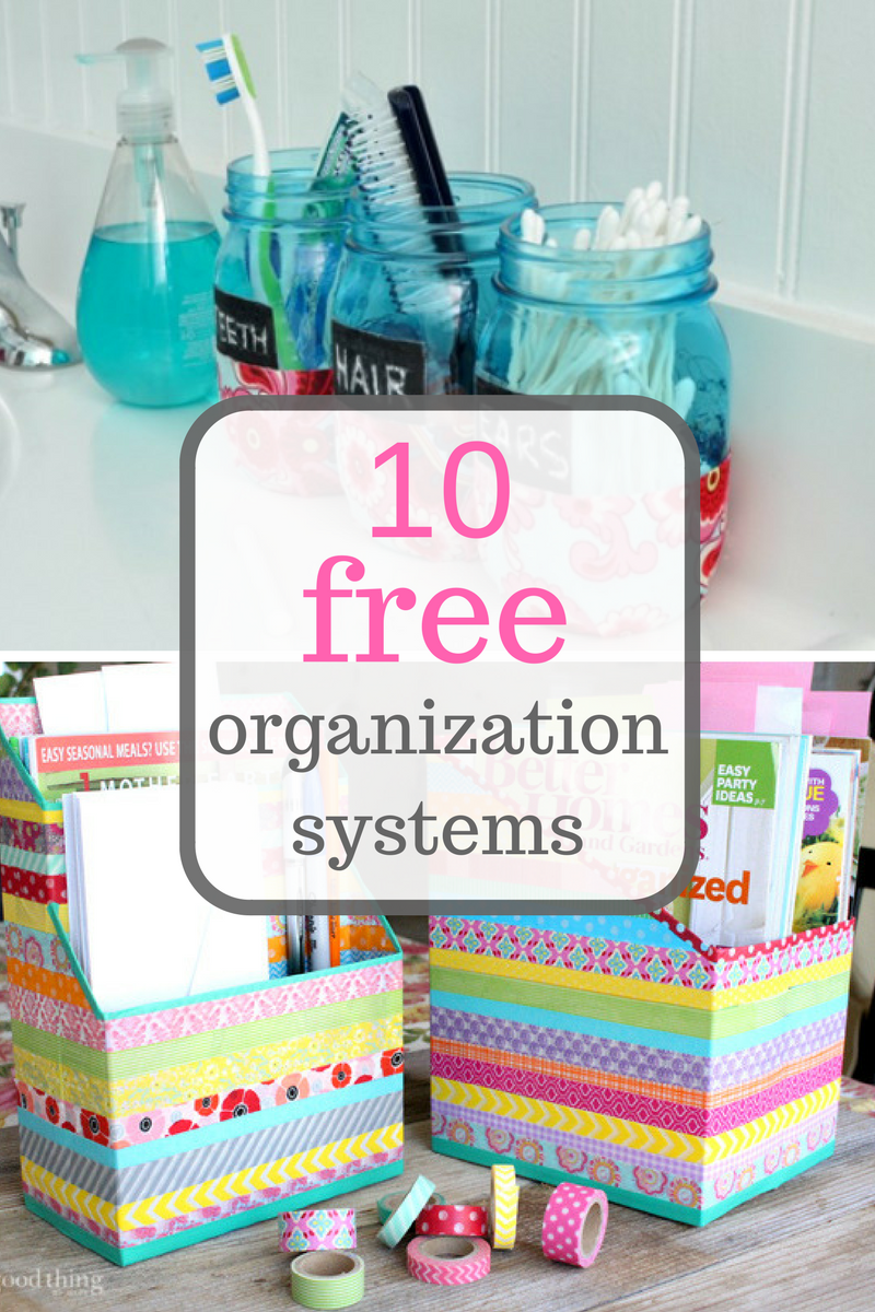 5 Organization Systems That Are COMPLETELY Free | Repurpose ...