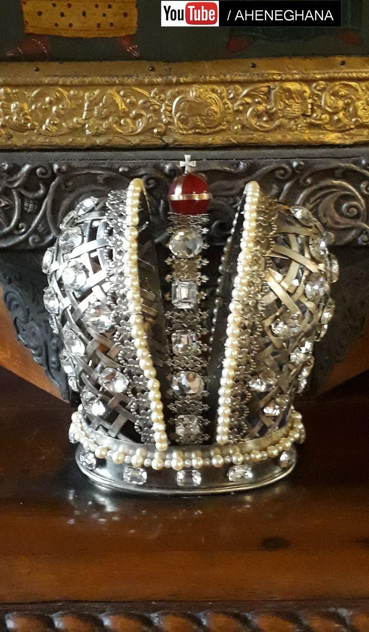 Crown of Czar Nikolas II Orthodox church Nice Cote d'Azur France