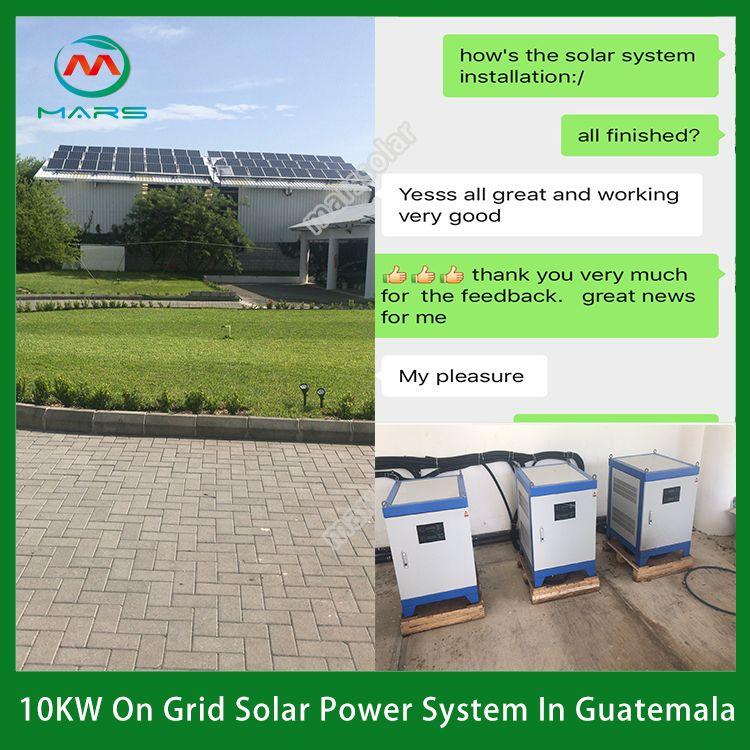10kw Solar System In Guatemala In 2020 Solar System Solar Solar Panel System