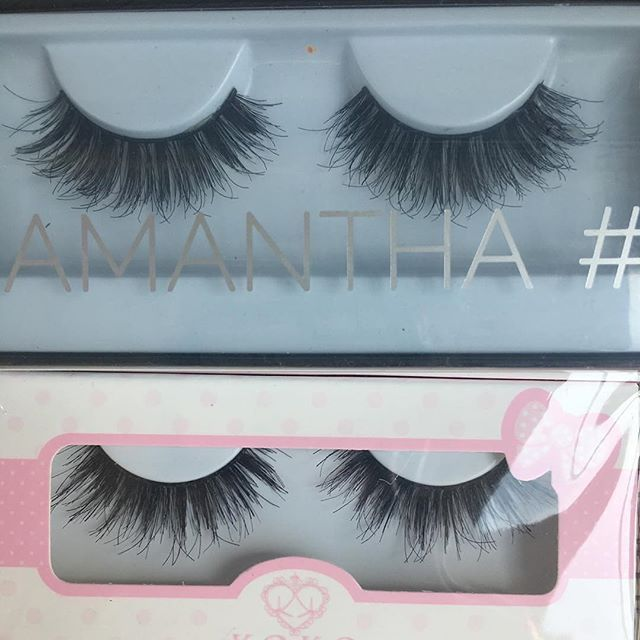 5c7205ca1e6 ladysdollhouse Huda Beauty Lashes in Samantha vs. KoKo lashes Queen B. The  Koko