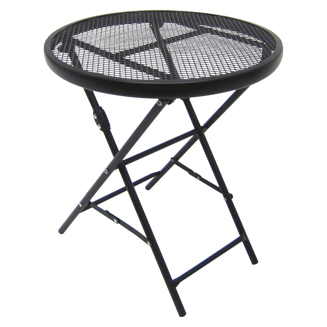 18 steel mesh patio folding table