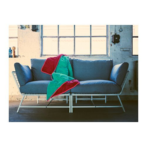 Ikea Ps 2017 Loveseat White Gray Our New Home