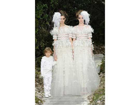 Chanel couture wedding dress. via @highsnobiety