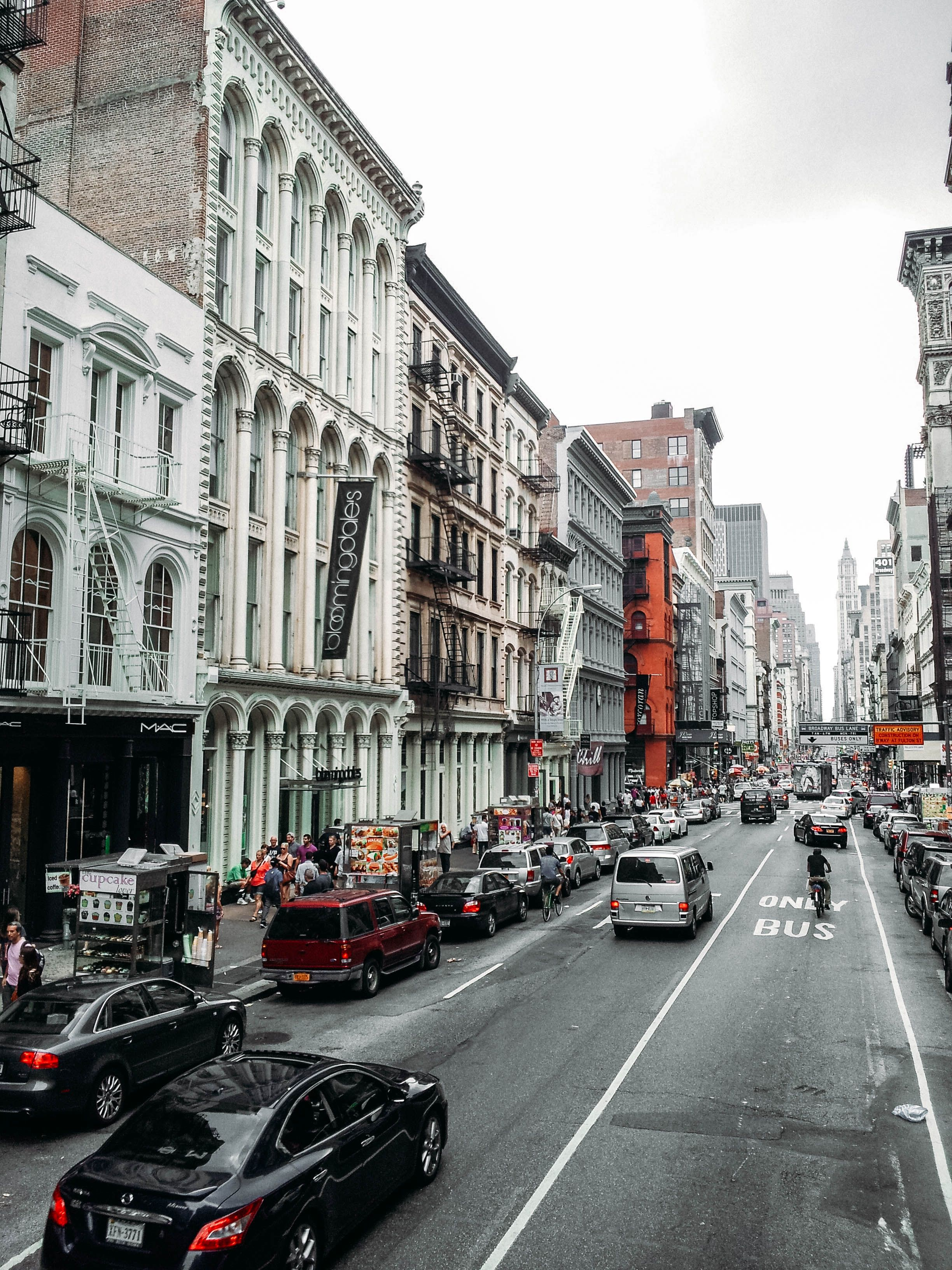 Soho Shopping Busy City Streets Places In New York Places To