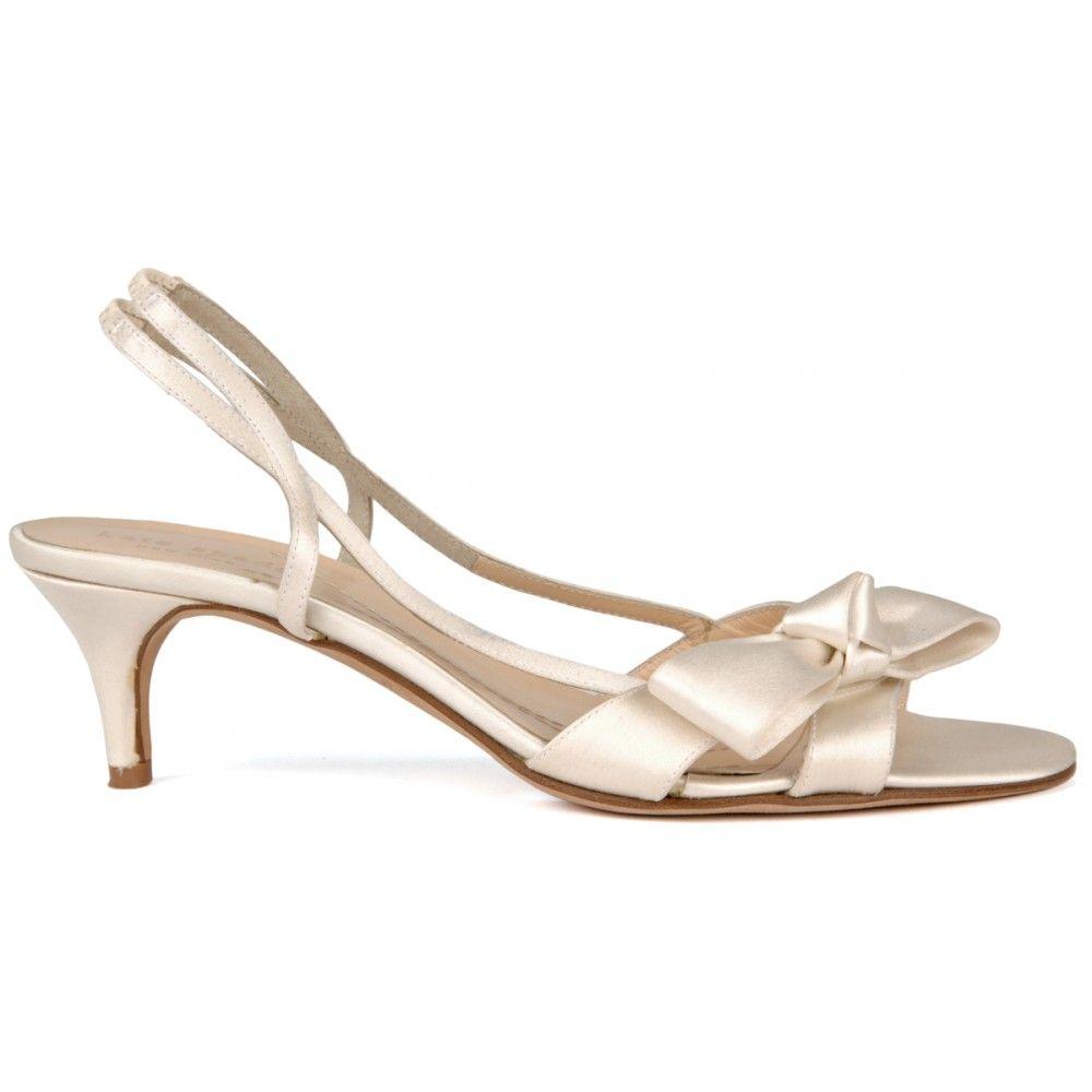 Mattie By Kate Spade Wedding Sandals In White Bellissimabridalshoes