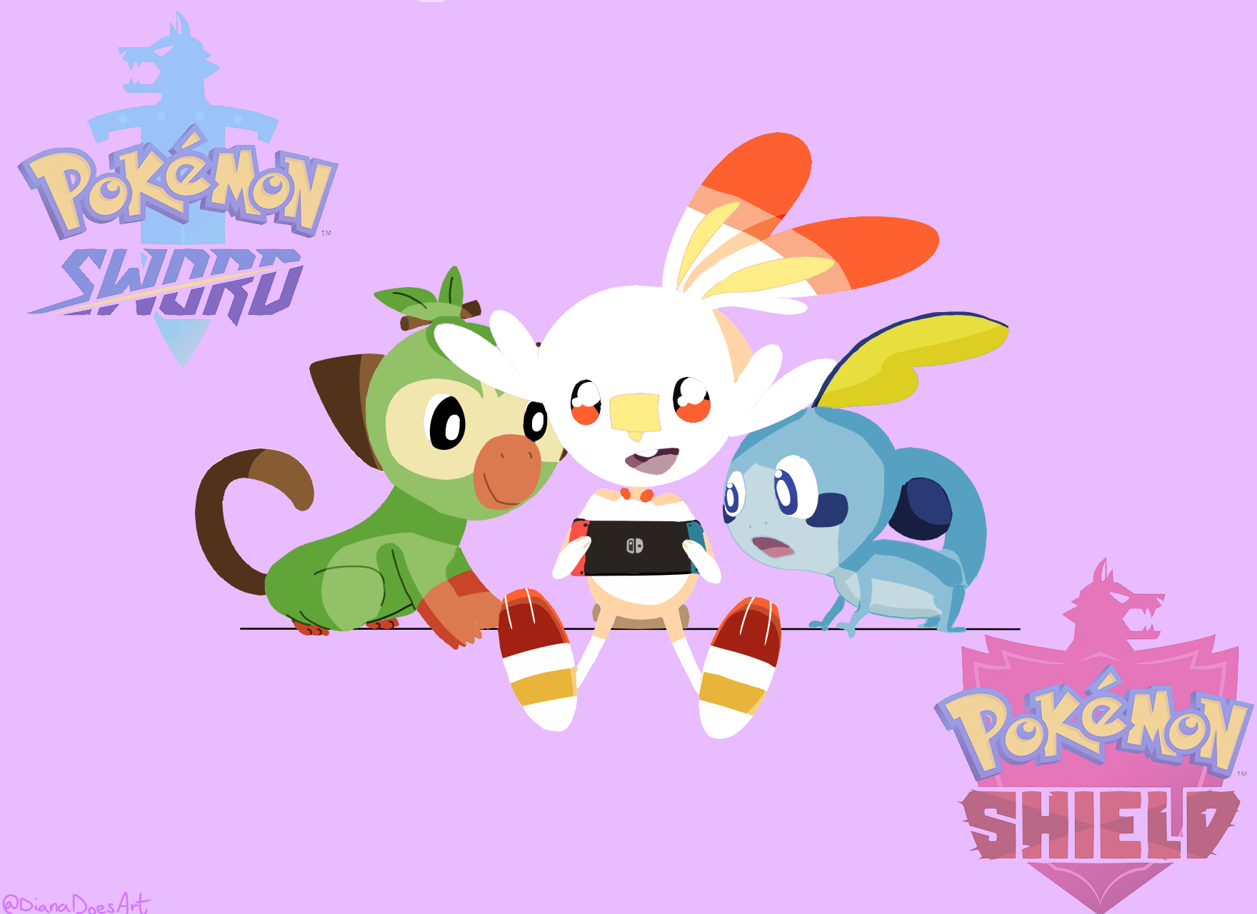 I Made Some Pokemon Sword And Shield Background S Pokemon Phone Wallpaper Anime