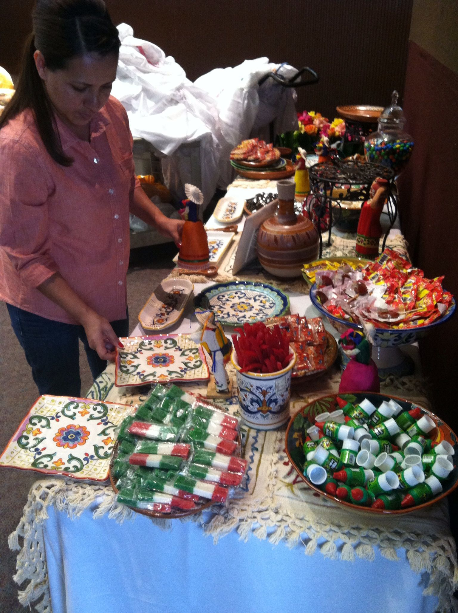 wedding shower candy buffet ideas%0A Fiesta Mexican Candy Bar   Party Ideas   Pinterest   Mexican candy  Fiestas  and Mexicans