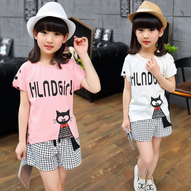 Special price Free shipping 2016 new arrive cartoon character children girl clothing set suit kids girl summer casual clothes set just only $13.49 - 14.39 with free shipping worldwide  #girlsclothing Plese click on picture to see our special price for you