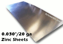 030 Zinc Sheet 20 Gauge Zinc Sheet Zinc Countertops Zinc Table Top