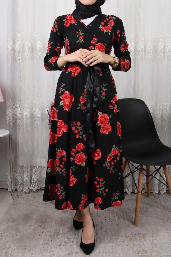 فستان أسود مورد شامواه تسوق أون لاين حجاب مودانيسا أزياء محجبات ملابس محجبات فساتين جلباب عباية ملابس ف Dresses Long Sleeve Dress Dresses With Sleeves