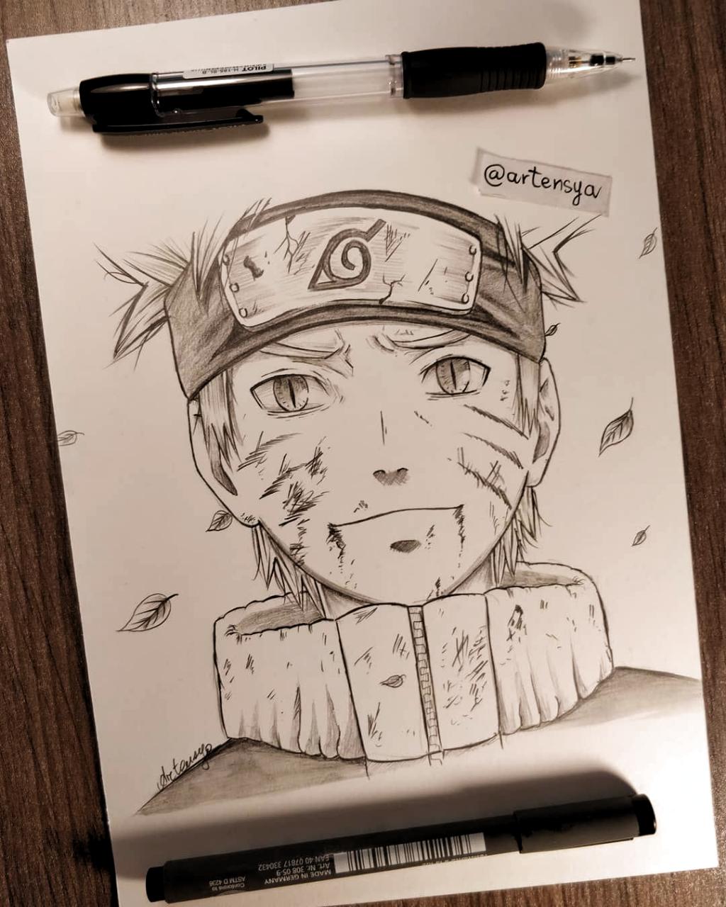 Naruto Uzumaki I Love This Draw Hope U Like It Follow Me Artensya En 2020 Jeux Dessin Coloriage Naruto Tutoriel De Dessin