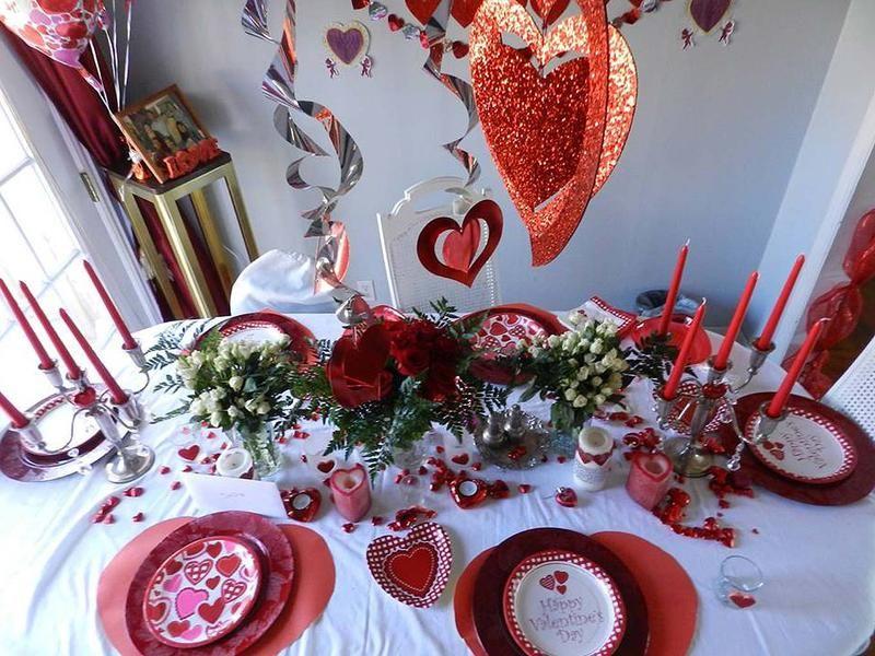 La casa de Jeanette Butron se viste de San Valentín