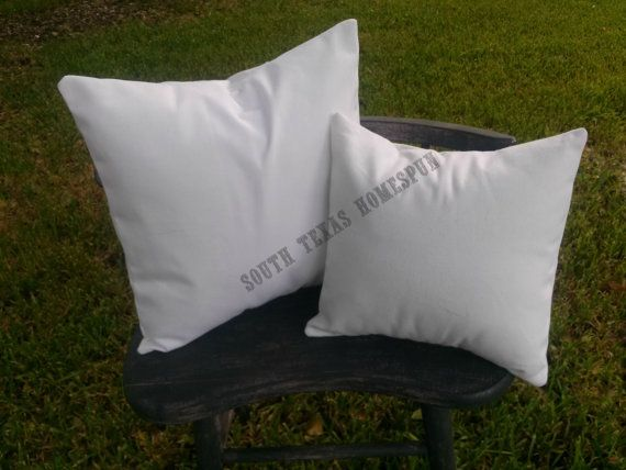25 Pack of Cotton Canvas Pillow Cover Blanks - Wholesale Priced