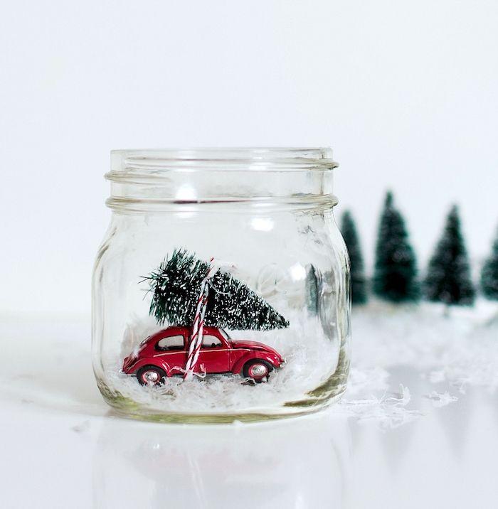 ▷ 1001 + Ideen, wie Sie eine zauberhafte Schneekugel selber machen