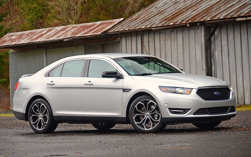 White Ford Taurus Sho VROOM VROOM Pinterest So
