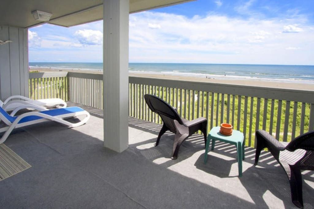 Check Out This Awesome Listing On Airbnb N Myrtle Beach Ocean Front 3br 2ba Cherry Grove Condominiums For Rent In Nor Vacation Home Condo Rental Vacation
