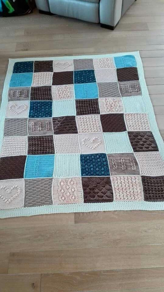 scheepjes blanket cal 2016 a variation in loving. Black Bedroom Furniture Sets. Home Design Ideas