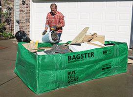 Business Bagster Dumpster Bag Portable Waste