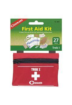 Coghlans 9801 Trek I First Aid Kit Our Price: $8.99 ! http://www.gorillasurplus.com/