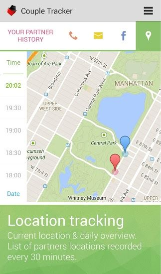 couple tracker phone monitor screenshot