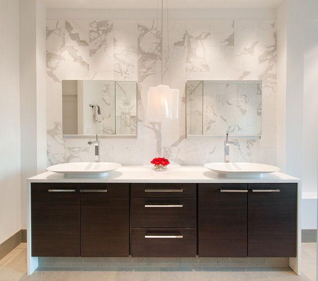 Bathroom Backsplash Ideas For Publice Bathroom Backsplash Ideas Modern Twin Bathroom Vanity Table