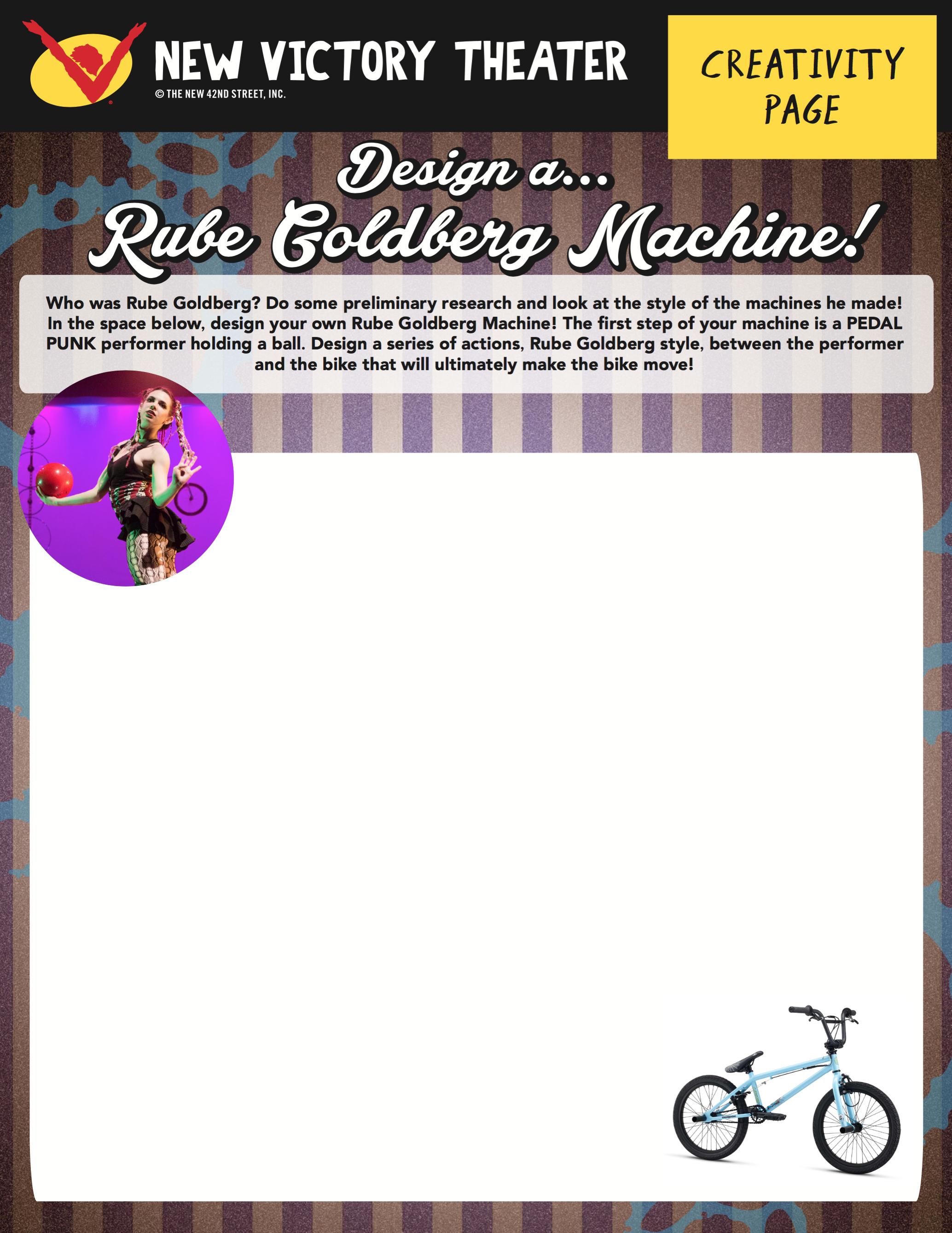 Design A Wacky Rube Goldberg Machine That Starts With A