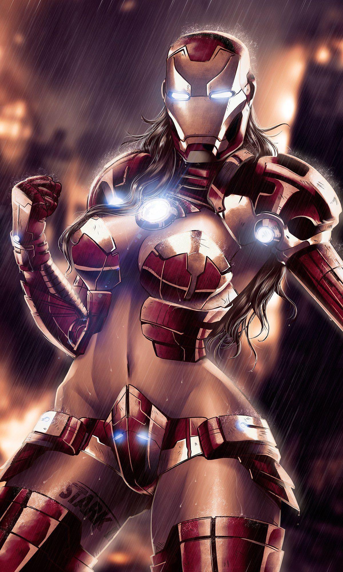The Iron Woman - Wikipedia