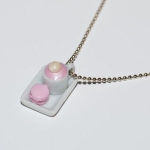 craft french necklace macaroon  $31