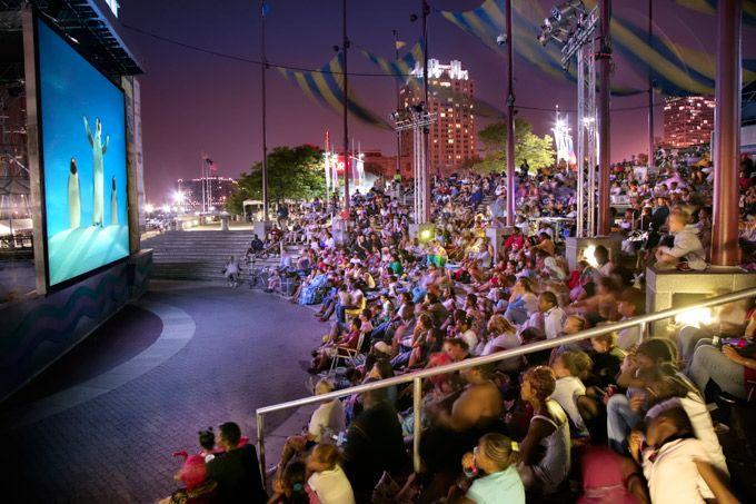 "Penn's Landing's ""Screenings Under The Stars"" Outdoor Movie Series Is Back For Summer 2012 On Thursdays Starting July 5"
