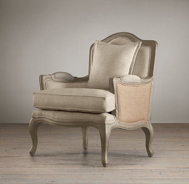 Marseilles Chair With Burlap | Chairs | Restoration Hardware