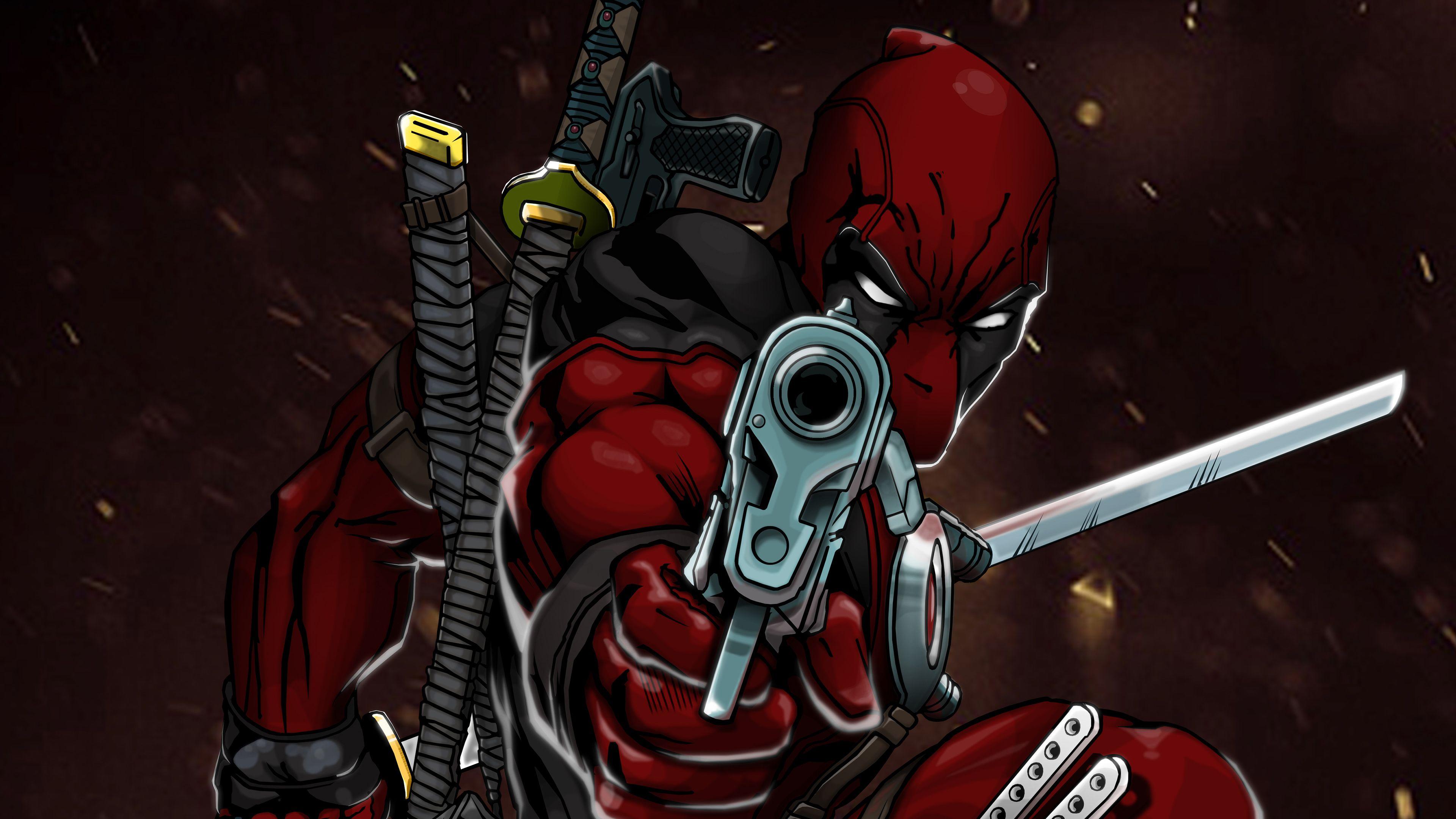 Deadpool 4k Art Superheroes Wallpapers Hd Wallpapers Digital Art Wallpapers Deadpool Wallpapers Behance Wallpape Deadpool Wallpaper Art Wallpaper Superhero