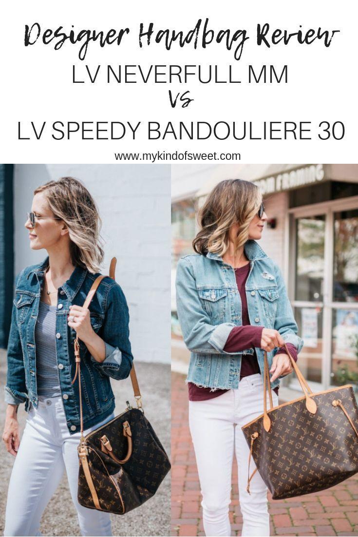 Designer Handbag Review: Louis Vuitton Neverfull MM Vs