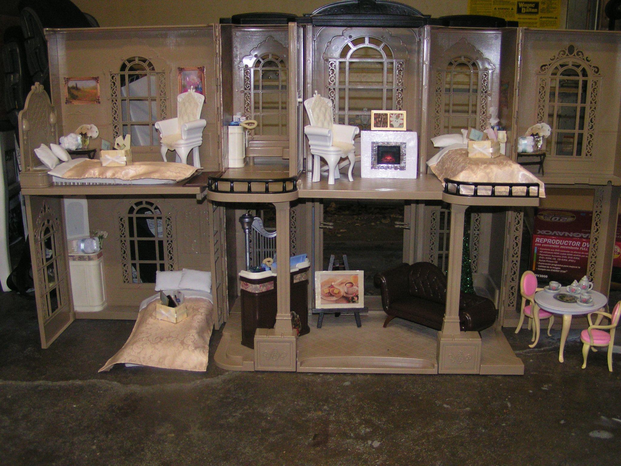 Finished Revamped Ooak Custom 2001 Barbie Grand Hotel