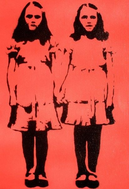 Shining Twins Red Stencils Amp Patterns For Tshirts
