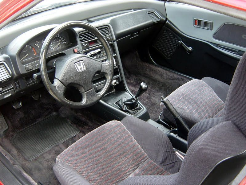 1991 honda crx si interior what i wouldn 39 t give to - One time interior house cleaning ...