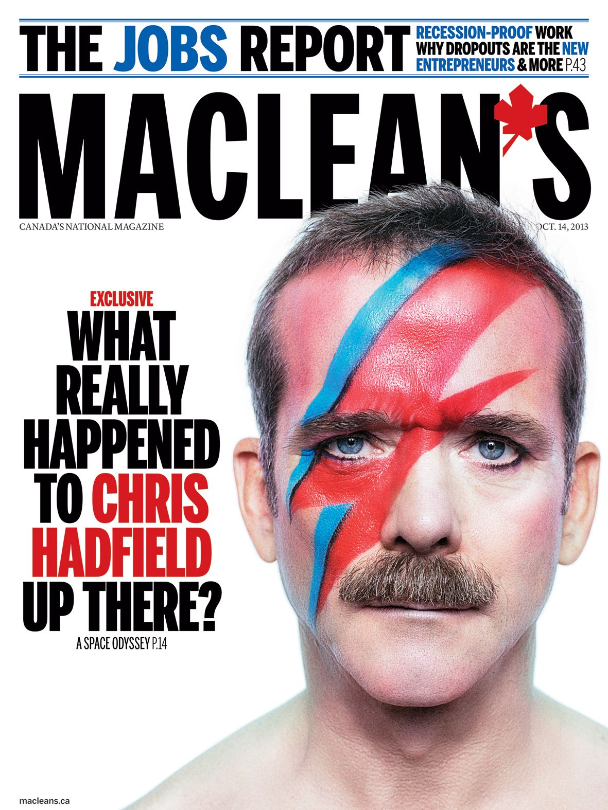 Chris Hadfield - How to cut hair in space